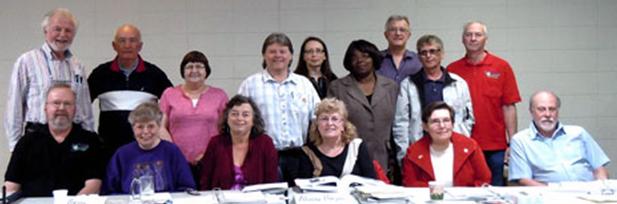 Pre-Retirement Training Instructors' Seminar, Edmonton 2012.